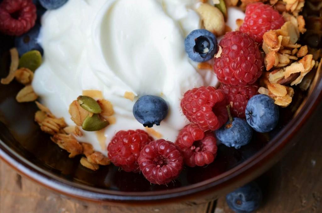 eat yogurt for good gut health