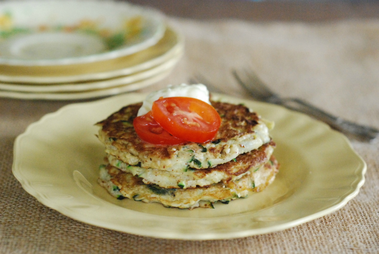 High Protein Zucchini Fritters