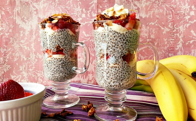 breakfast chia seed pudding recipes