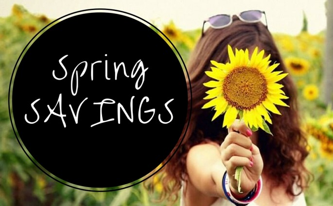 SPRING INTO WELLBEING SAVINGS