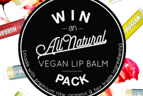 CLOSED: Find The Snowflakes For Your Chance To Win a Hurraw Vegan Lip Balm Pack