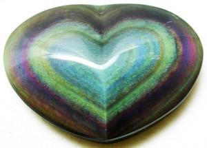 rainbow obsidian crystal healing