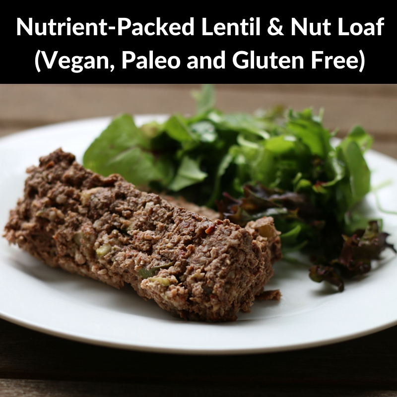 Lisa's Lentil & Nut Loaf