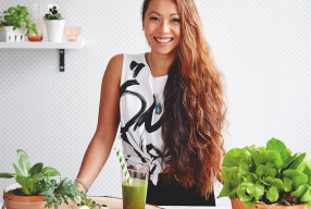 5 minutes with Maz Valcorza, Founder of Sadhana Kitchen, Vegan Chef, Author & Social Entrepreneur