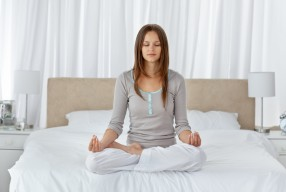 A Bedtime Yoga Sequence To Help You Sleep