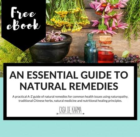 FREE Natural Remedies eBook