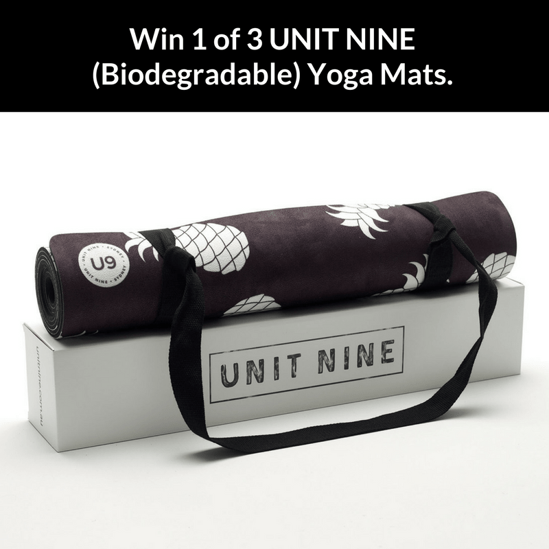 win a unit nine yoga mat