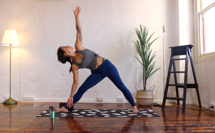 yoga for runners - warm up