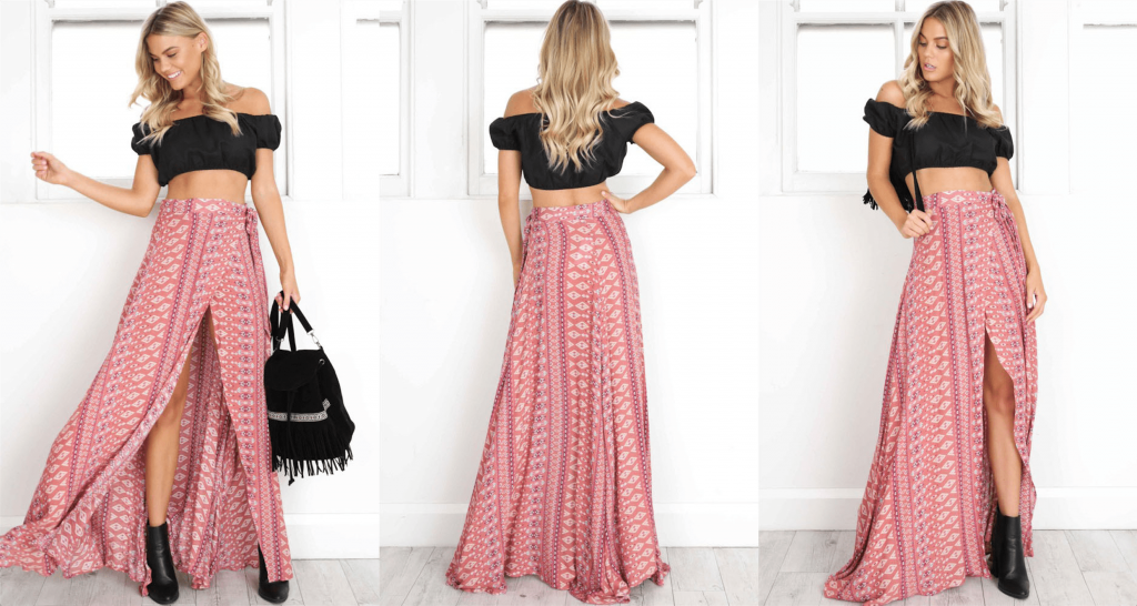 best boho skirt