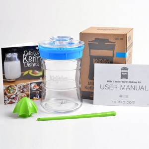 kefir & kombucha making kit