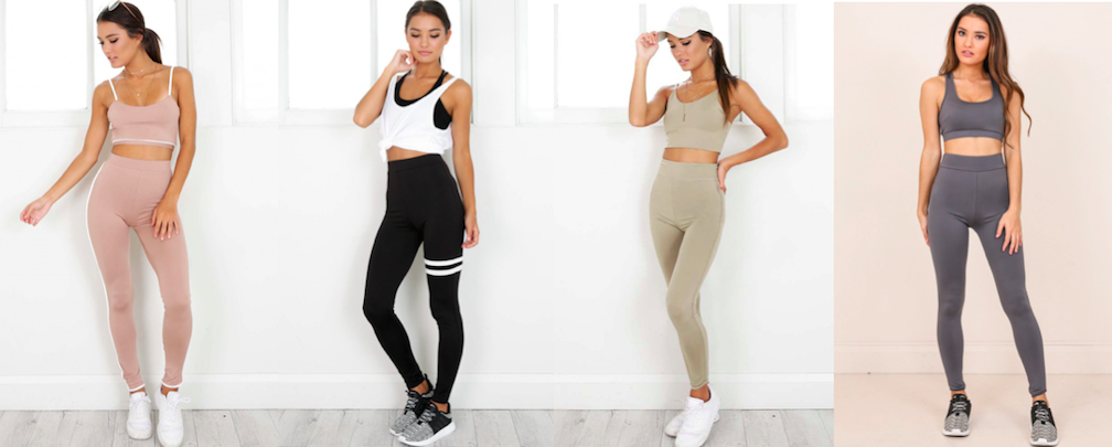 win showpo activewear